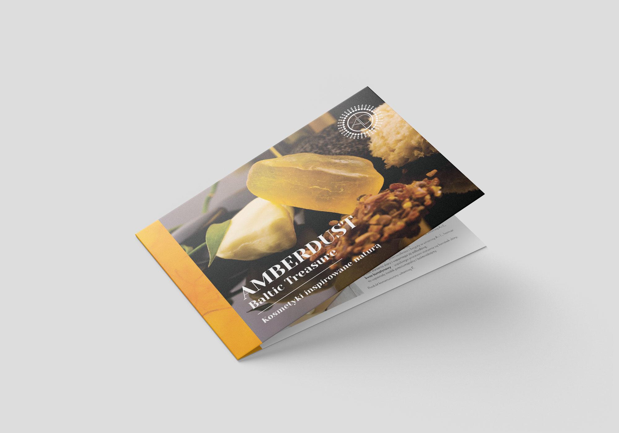 Amber Dust Folder front