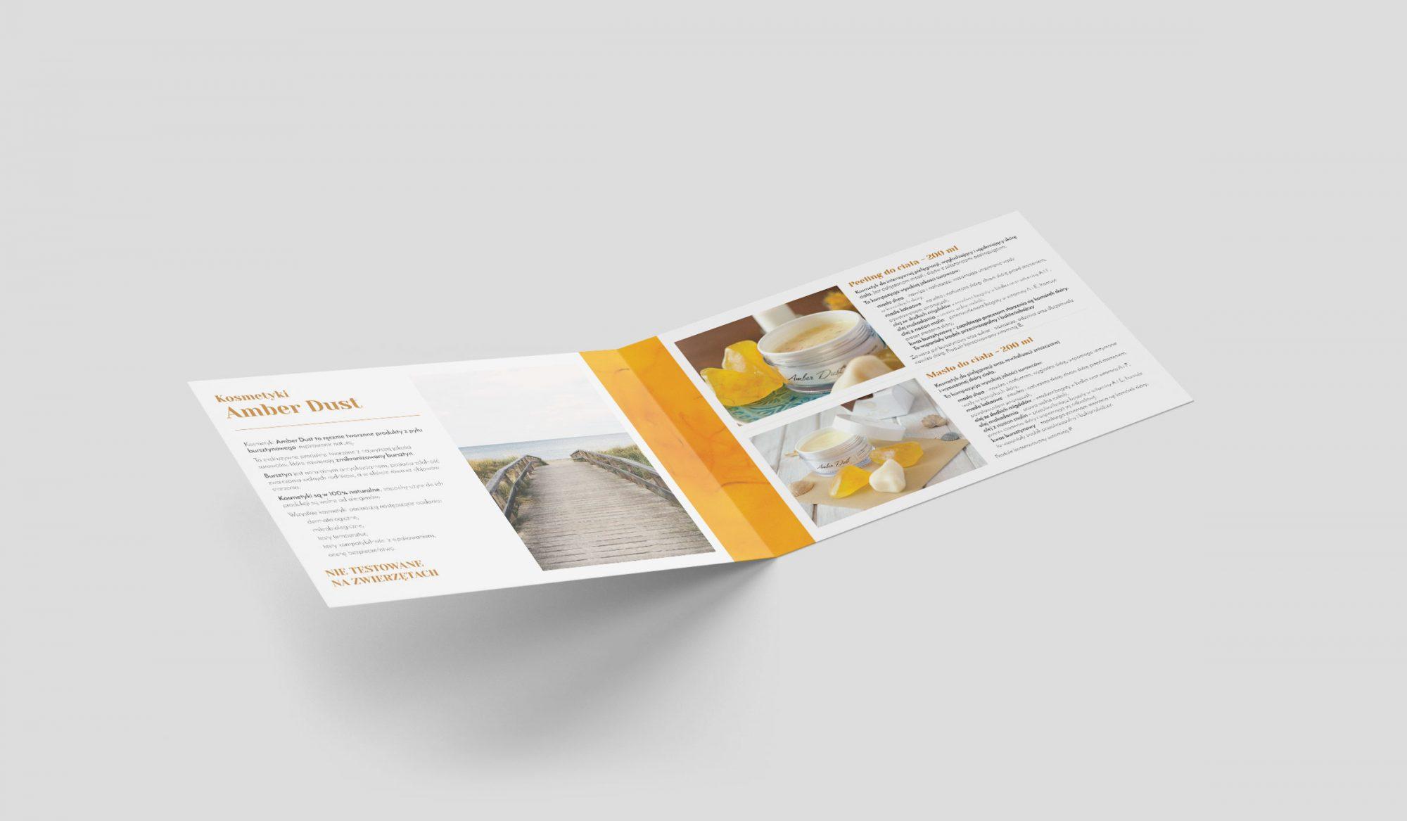 Amber Dust Folder inside